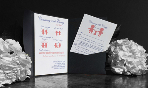 The 2 Rules of Wedding Invitation Design